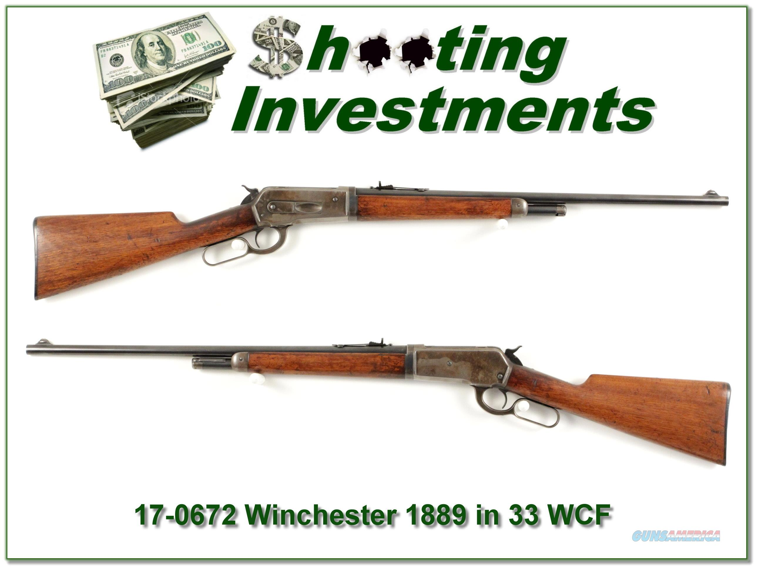 Winchester 1886 in RARE Takedown 33 WCF all original  Guns > Rifles > Winchester Rifles - Modern Lever > Other Lever > Pre-64