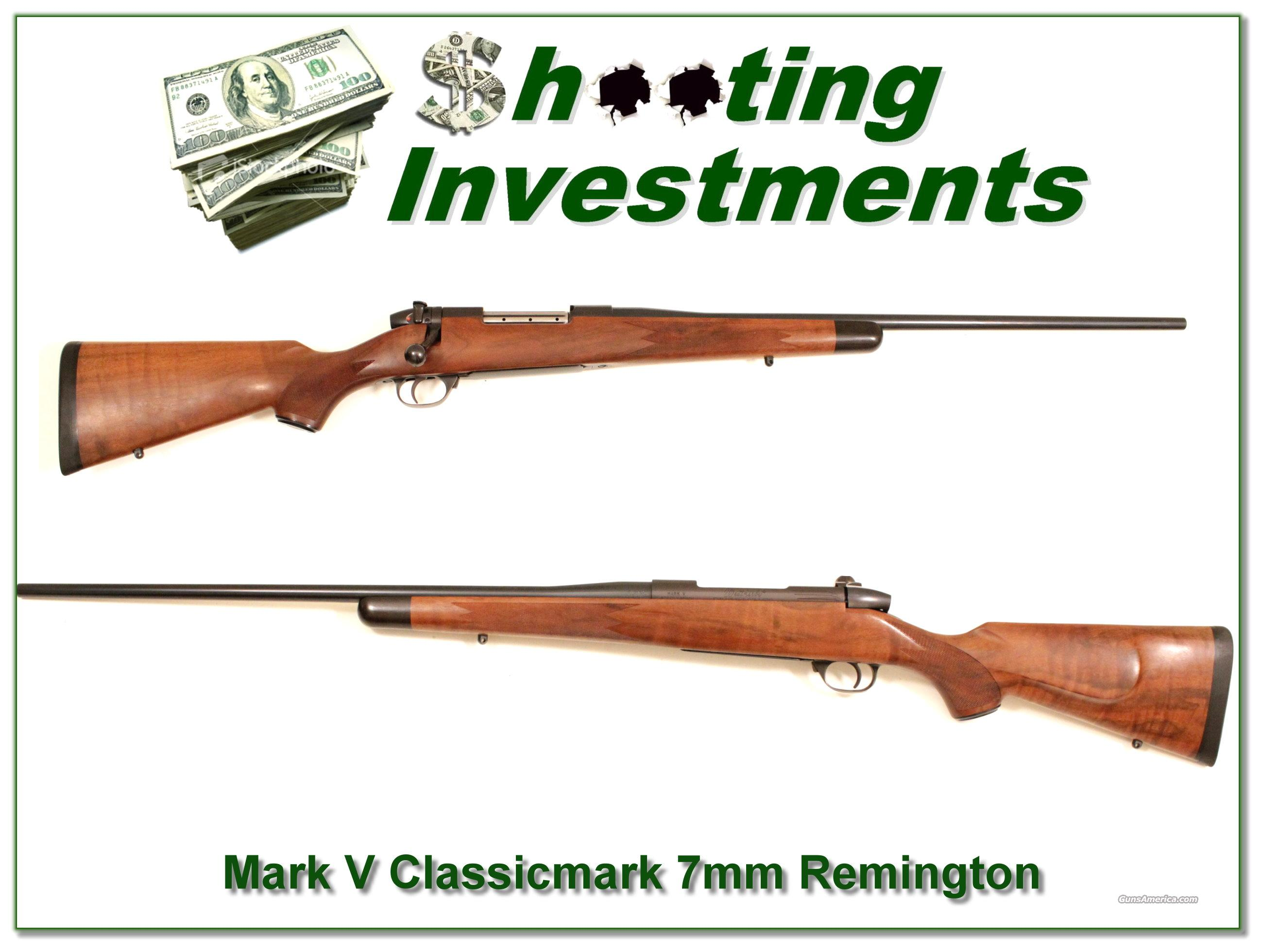 Weatherby Mark V Classicmark 7mm Remington Mag  Guns > Rifles > Remington Rifles - Modern > Bolt Action Non-Model 700 > Sporting