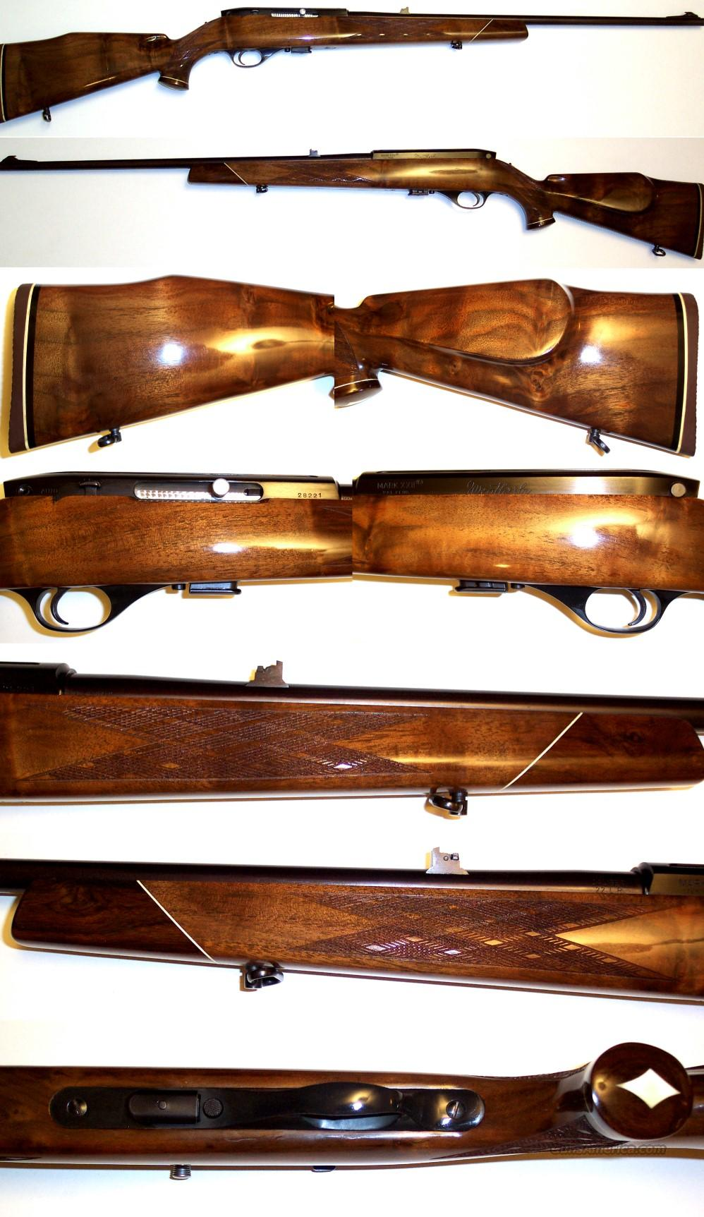 Weatherby Italian XXII with much better than average wood  Guns > Rifles > Weatherby Rifles > Sporting