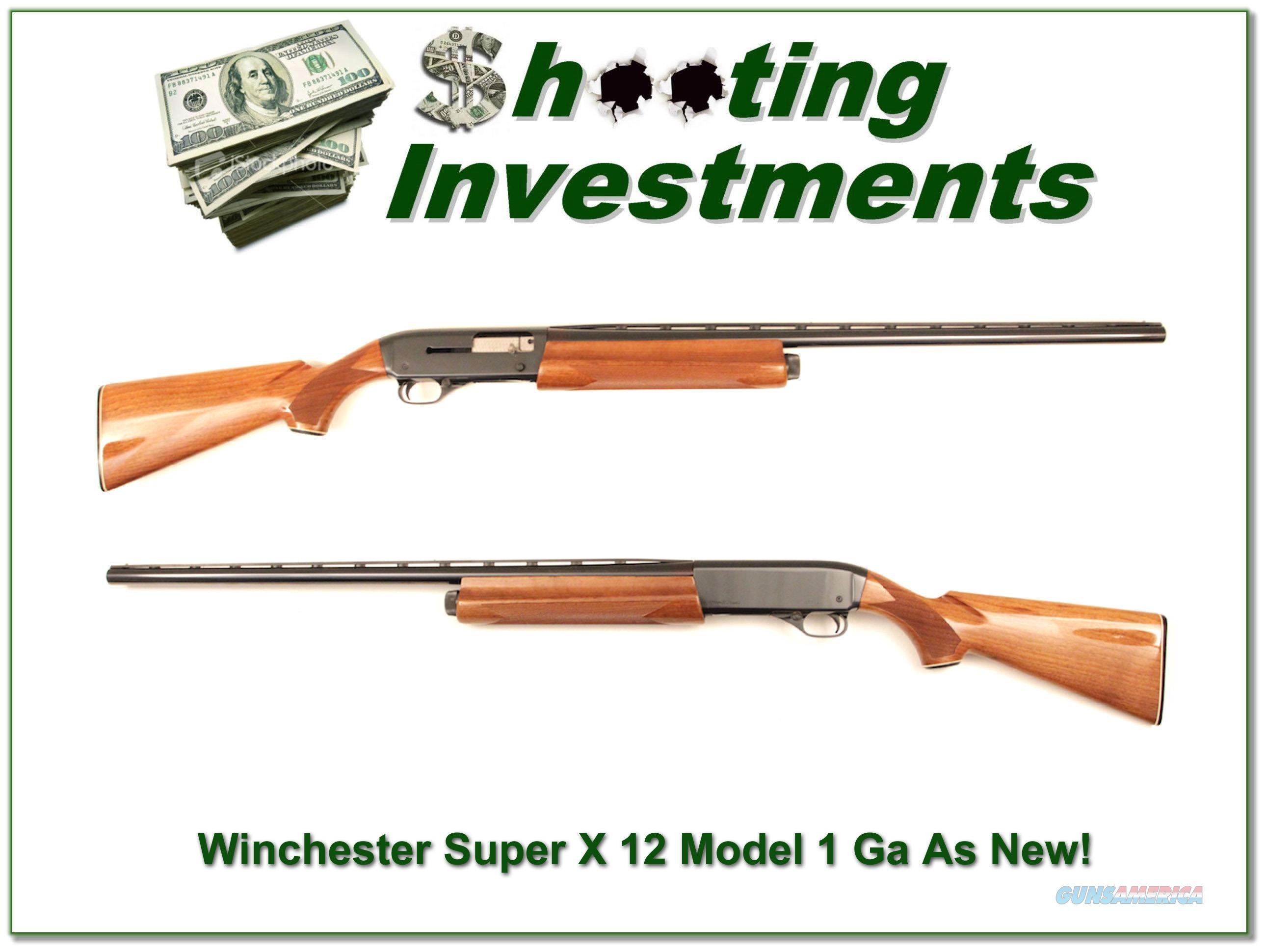 Winchester Super X Model 1 28kin VR Modified as new!  Guns > Shotguns > Winchester Shotguns - Modern > Autoloaders > Hunting