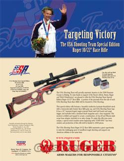 Ruger USA Shooting Team Race Rifle  Guns > Rifles > Ruger Rifles > 10-22