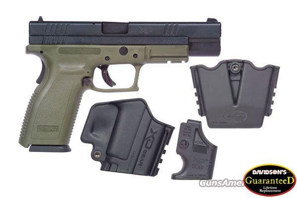 SPRINGFIELD ARMORY XD9 OD TACTICAL 9MM PISTOL **NEW**  Guns > Pistols > Springfield Armory Pistols > XD (eXtreme Duty)