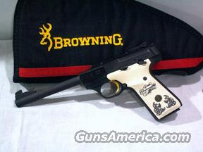 Browning Buckmark 25th Commermorative 22LR  Guns > Pistols > Browning Pistols > Buckmark
