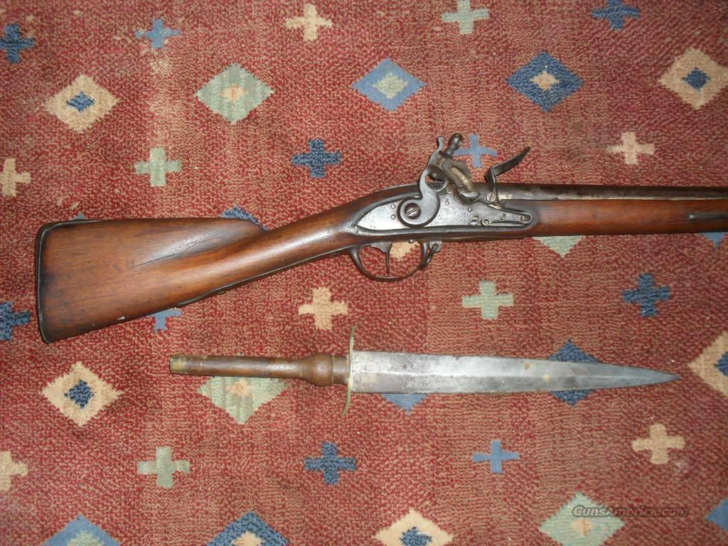 Model of 1763 Charleville Musket  Guns > Rifles > Muzzleloading Pre-1899 Rifles (flint)