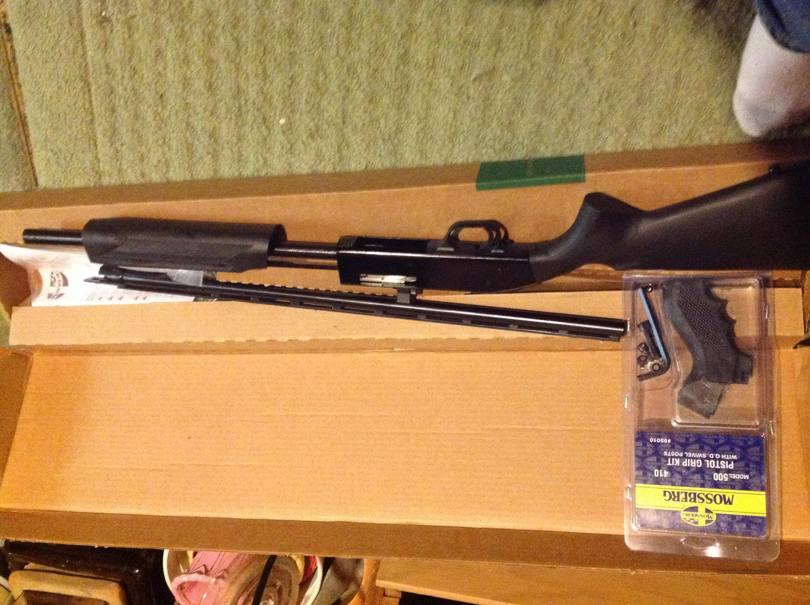 500 Bantam 410 with pistol grip included  Guns > Shotguns > Mossberg Shotguns > Pump > Sporting
