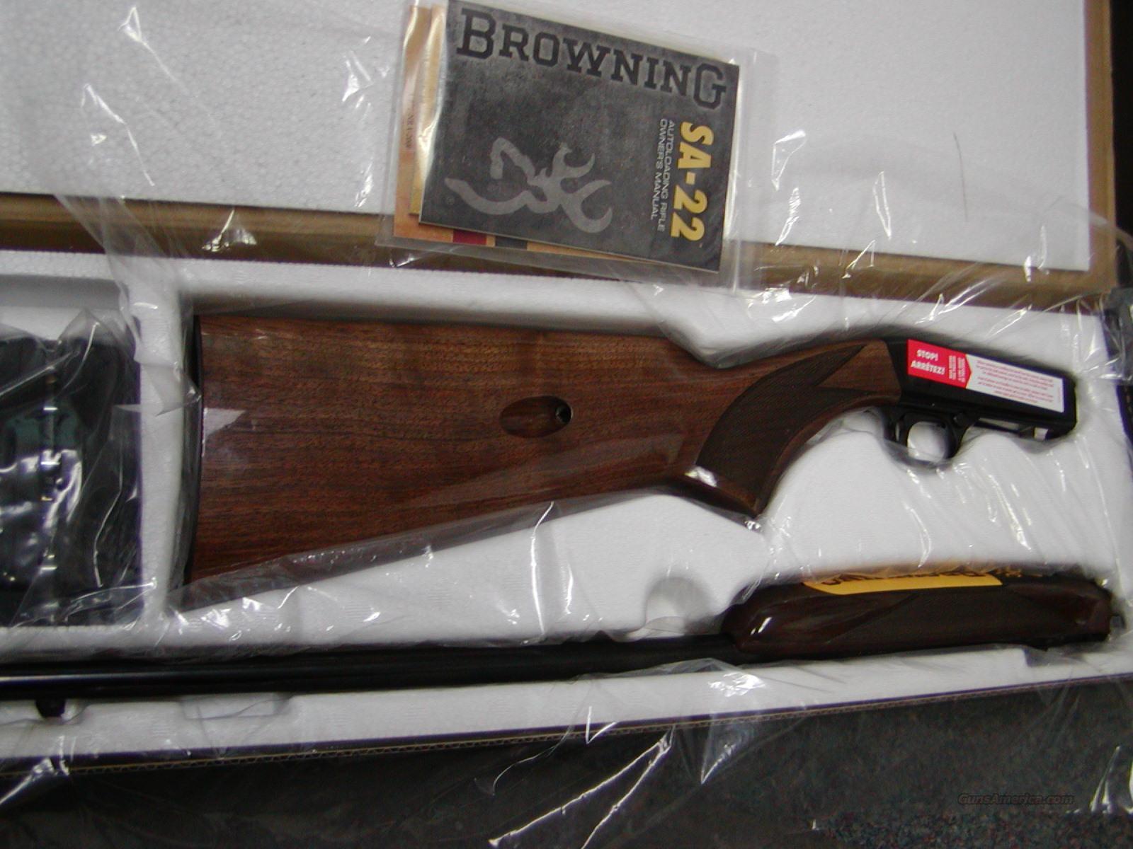Browning semi auto 22 short only guns gt rifles gt browning rifles