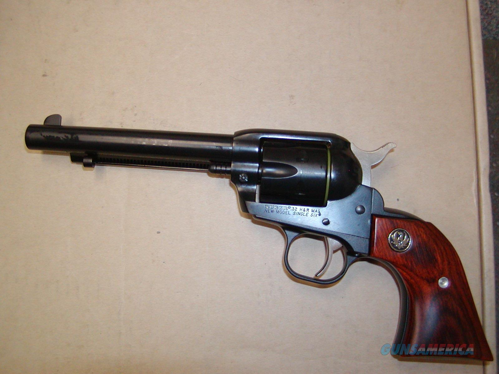Ruger Single-Six .32 H & R Magnum  Guns > Pistols > Ruger Single Action Revolvers > Single Six Type