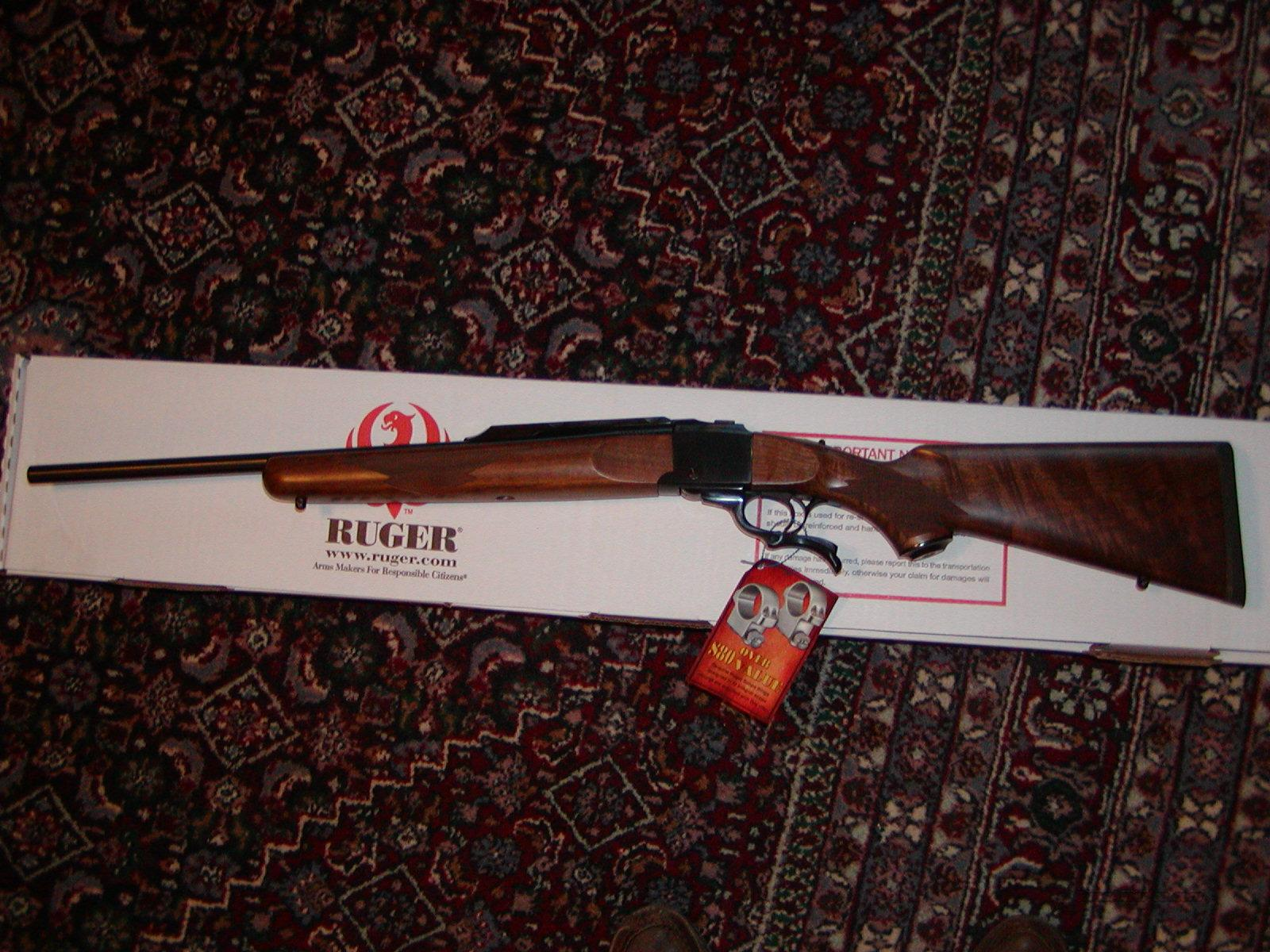 Ruger No.1-AB .338 Federal  Guns > Rifles > Ruger Rifles > #1 Type