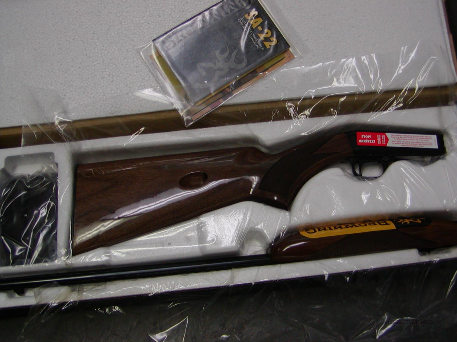 Browning SA .22 SHORT only Grade I  Guns > Rifles > Browning Rifles > Semi Auto > Hunting