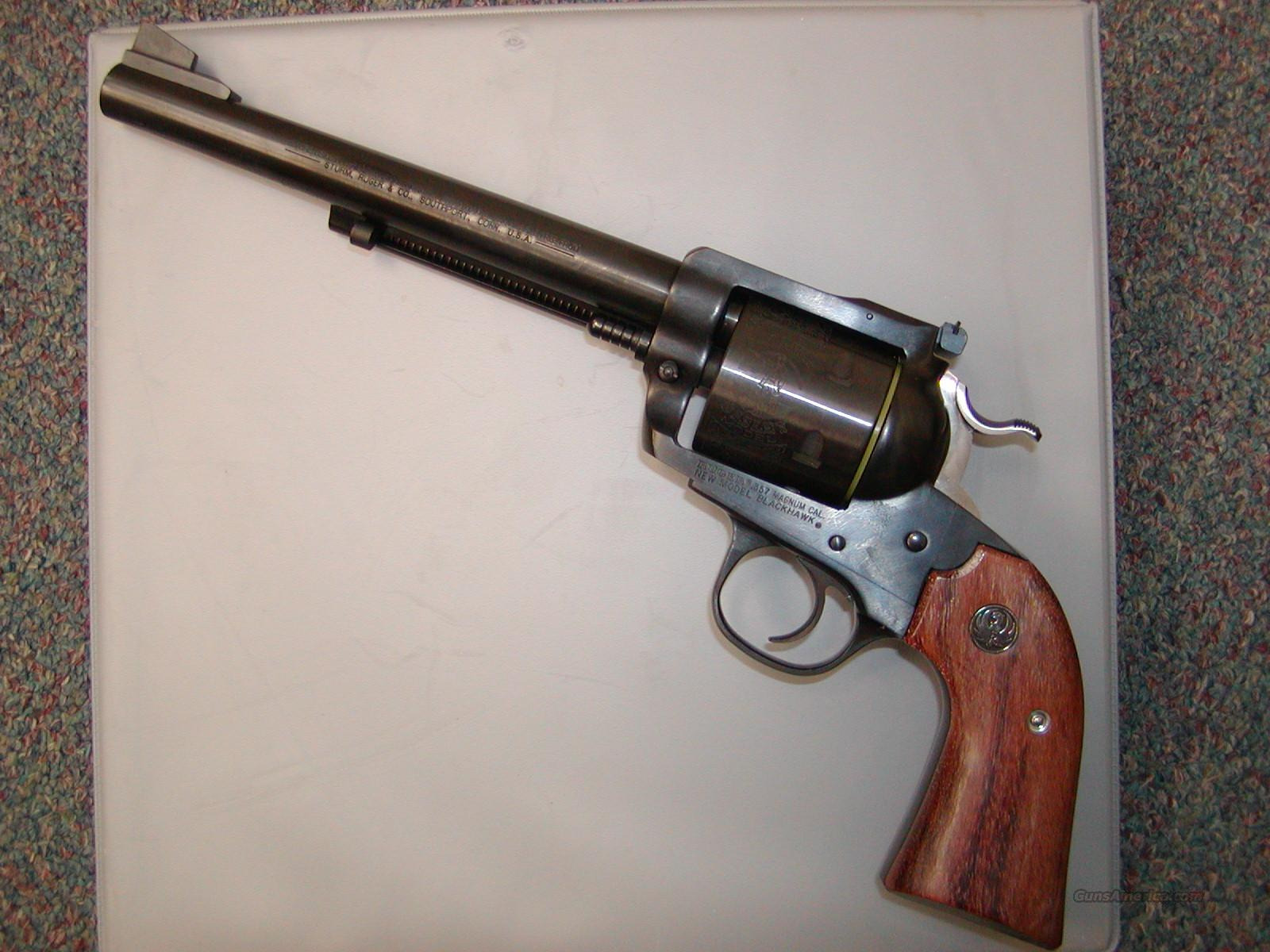 "Ruger .357 Mag Bisley Blackhawk 7.5"" Blue  Guns > Pistols > Ruger Single Action Revolvers > Blackhawk Type"