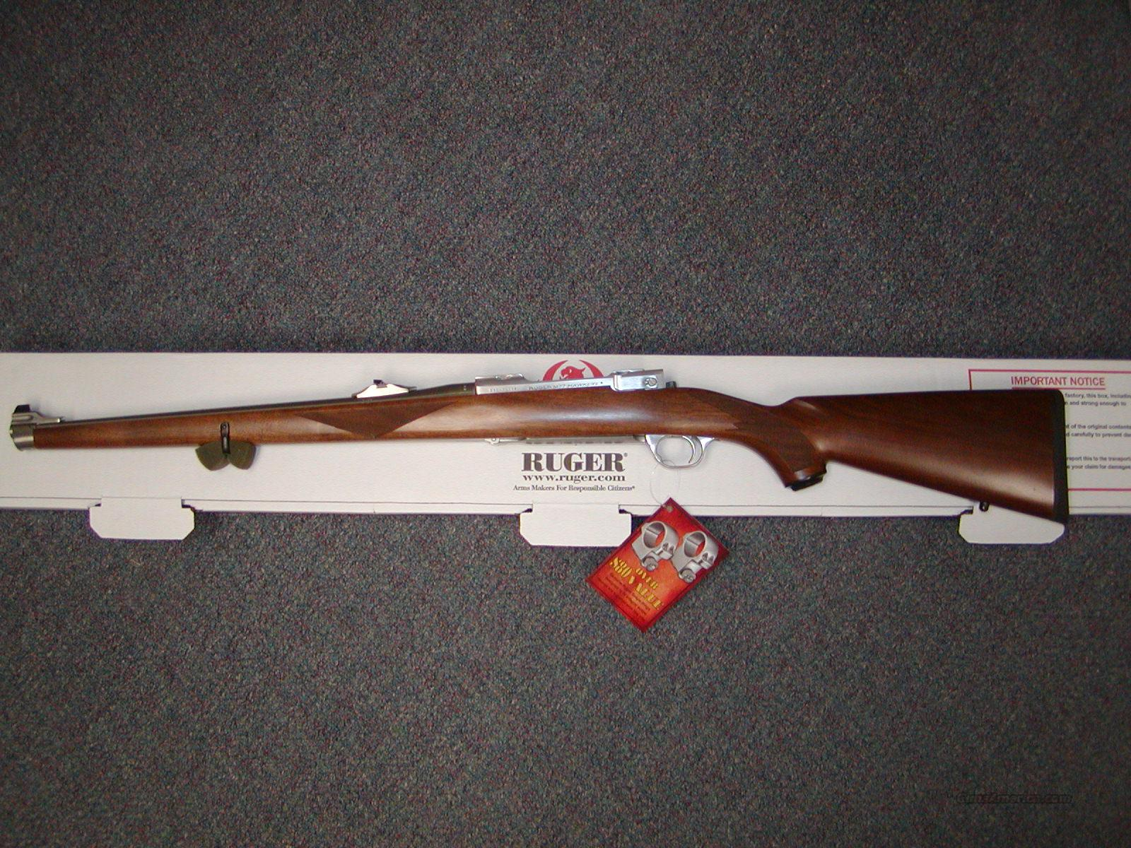 Ruger M77 RSI  7x57  stainless/ walnut  Guns > Rifles > Ruger Rifles > Model 77