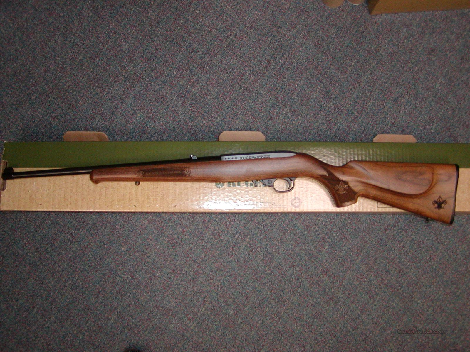 Ruger 10/22 Boy Scouts of America  Guns > Rifles > Ruger Rifles > 10-22