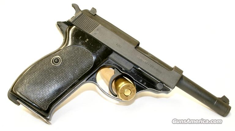 Walther P-38 9mm German pistol.  Guns > Pistols > Walther Pistols > Post WWII > Large Frame Autos