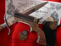 Sharps 4-Barrel Pepperbox Derringer  Guns > Pistols > Antique (Pre-1899) Pistols - Ctg. Misc.