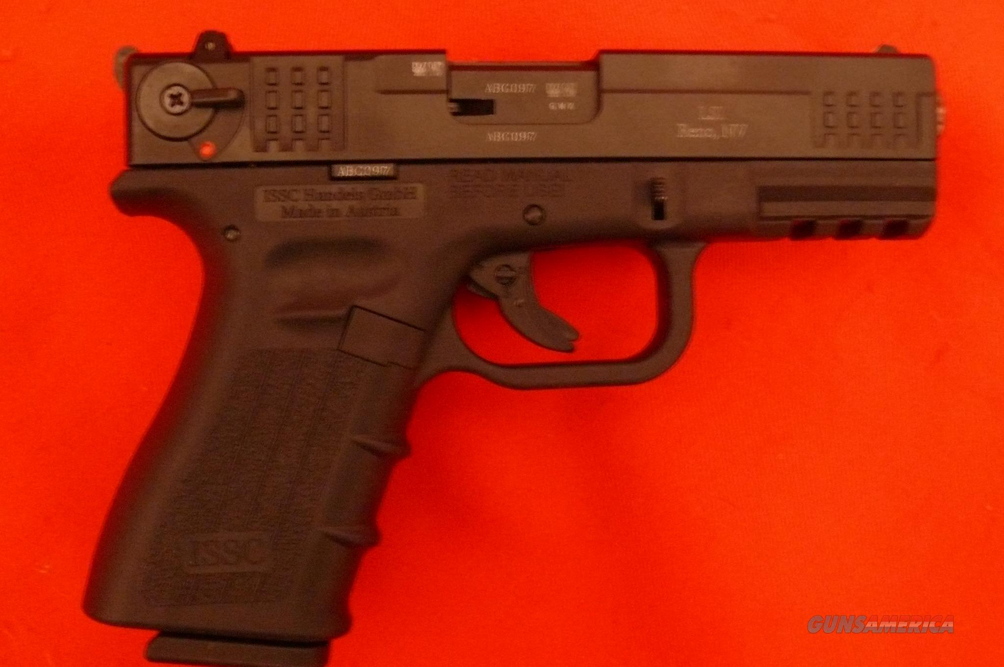ISSC .22 LR  LNIB w 2 Magazines GLOCK 19 / 23 / 32  Conversion  Guns > Pistols > ISSC Pistols