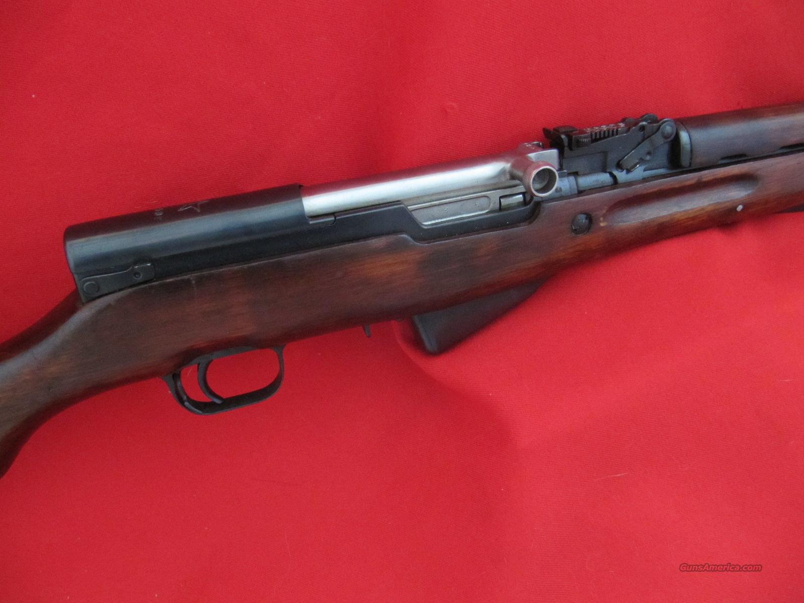Russian SKS 1950 Hardwood Black Bayonet TULA Exc  Guns > Rifles > Military Misc. Rifles Non-US > Other