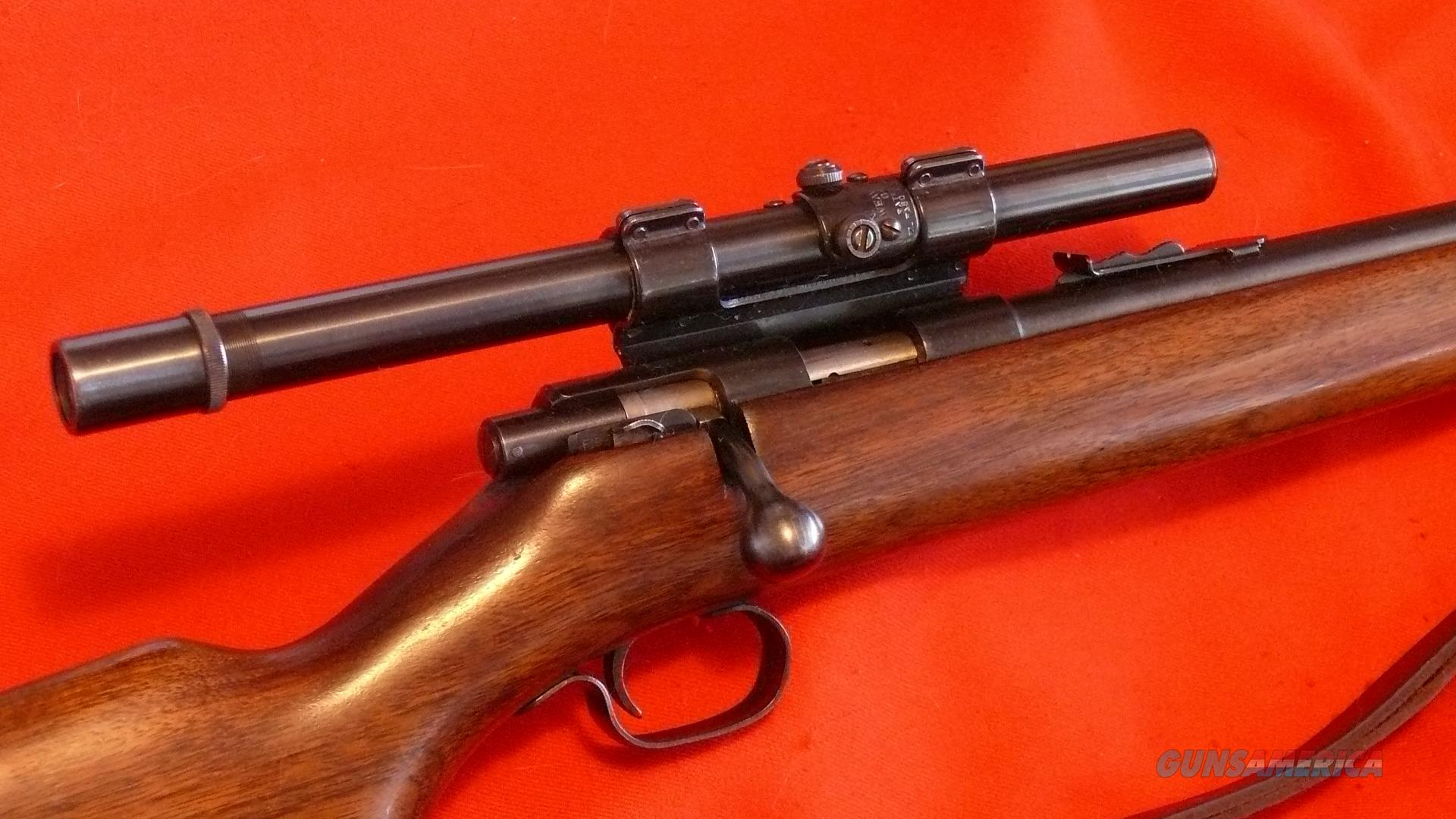 Winchester Model 72 Near Mint Weaver G4 Scope   Guns > Rifles > Winchester Rifles - Modern Bolt/Auto/Single > .22 Boys Rifles