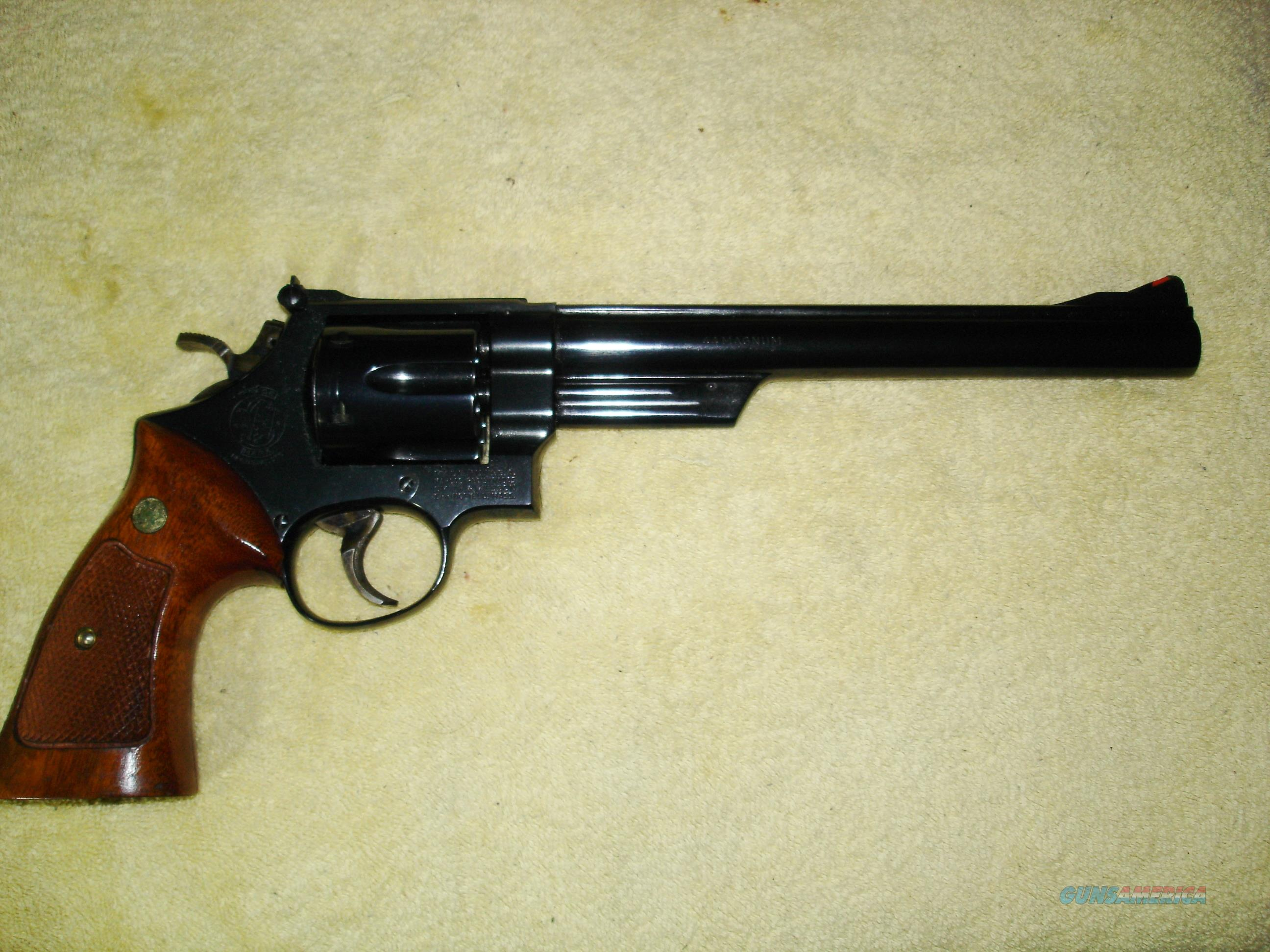 "Smith & Wesson Model 29-2 .44 Mag./.44 Spec. 8 3/8"" barrel Old Stock/""New"" w/Mahogany Presentation Case -- Made in the 1972-1974 Range 1-Owner  Guns > Pistols > Smith & Wesson Revolvers > Full Frame Revolver"