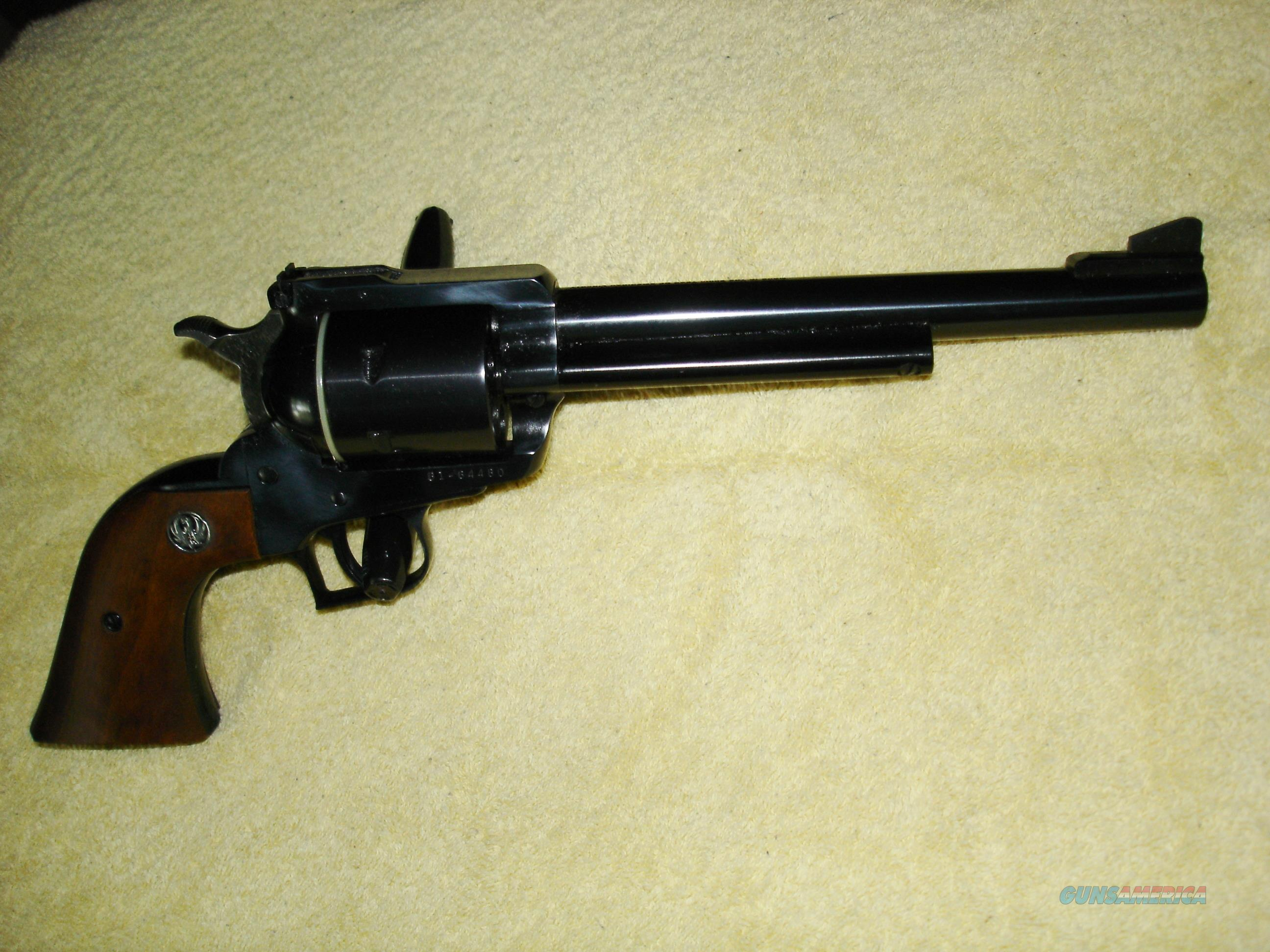 """Ruger Super Blackhawk .44M/.44 Spec. """"200th Year"""" (U.S. Bicentennial) Commemorative Model - NIB (One Owner) - Model Produced Only in 1976 - Collectible  Guns > Pistols > Ruger Single Action Revolvers > Blackhawk Type"""