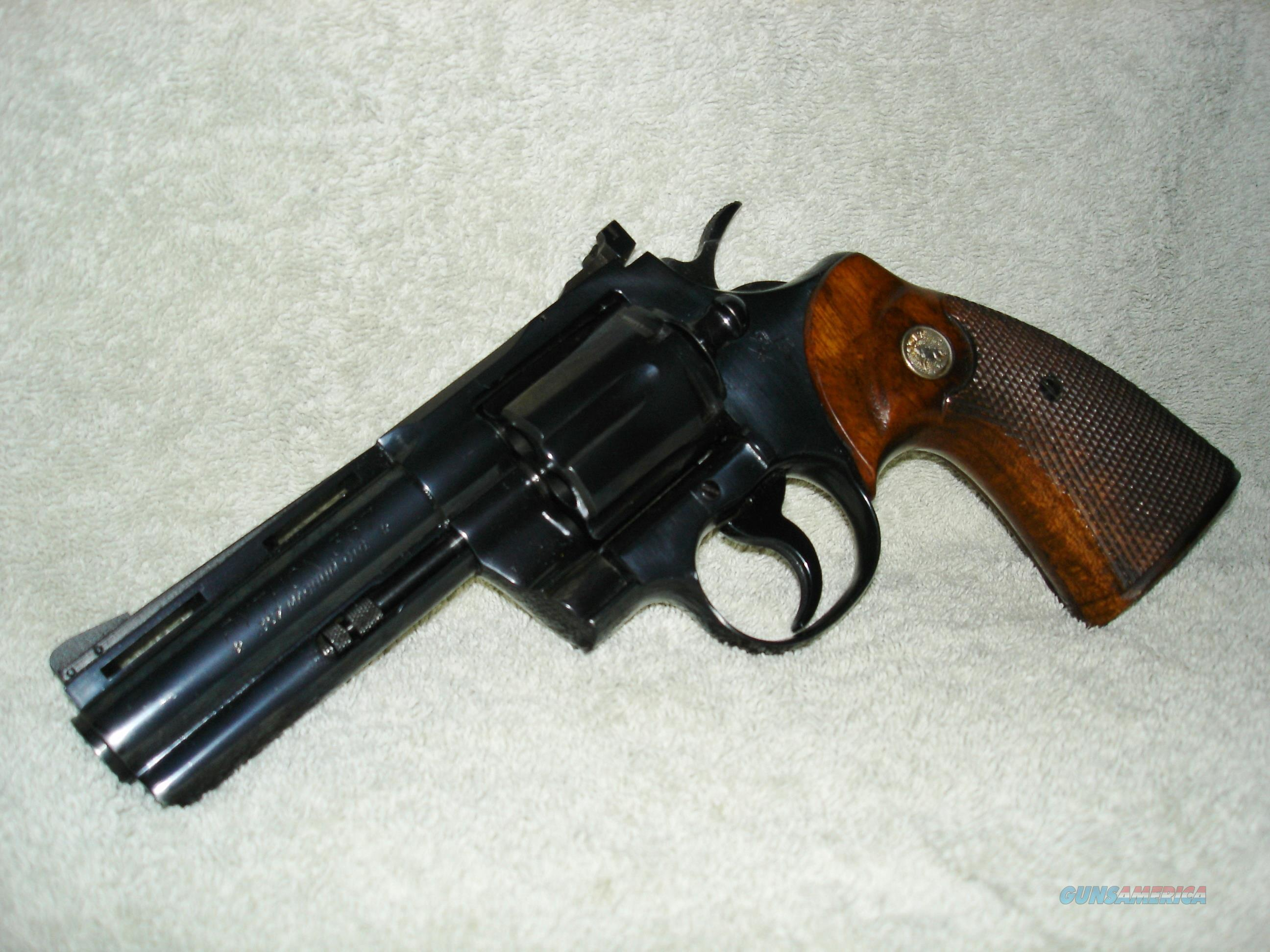 "Colt Python 1966 MANUFACTURE .357 Mag./.38 Spec., 4"" Barrel, Unfired/Near New Condition, Collectible  Guns > Pistols > Collectible Revolvers"