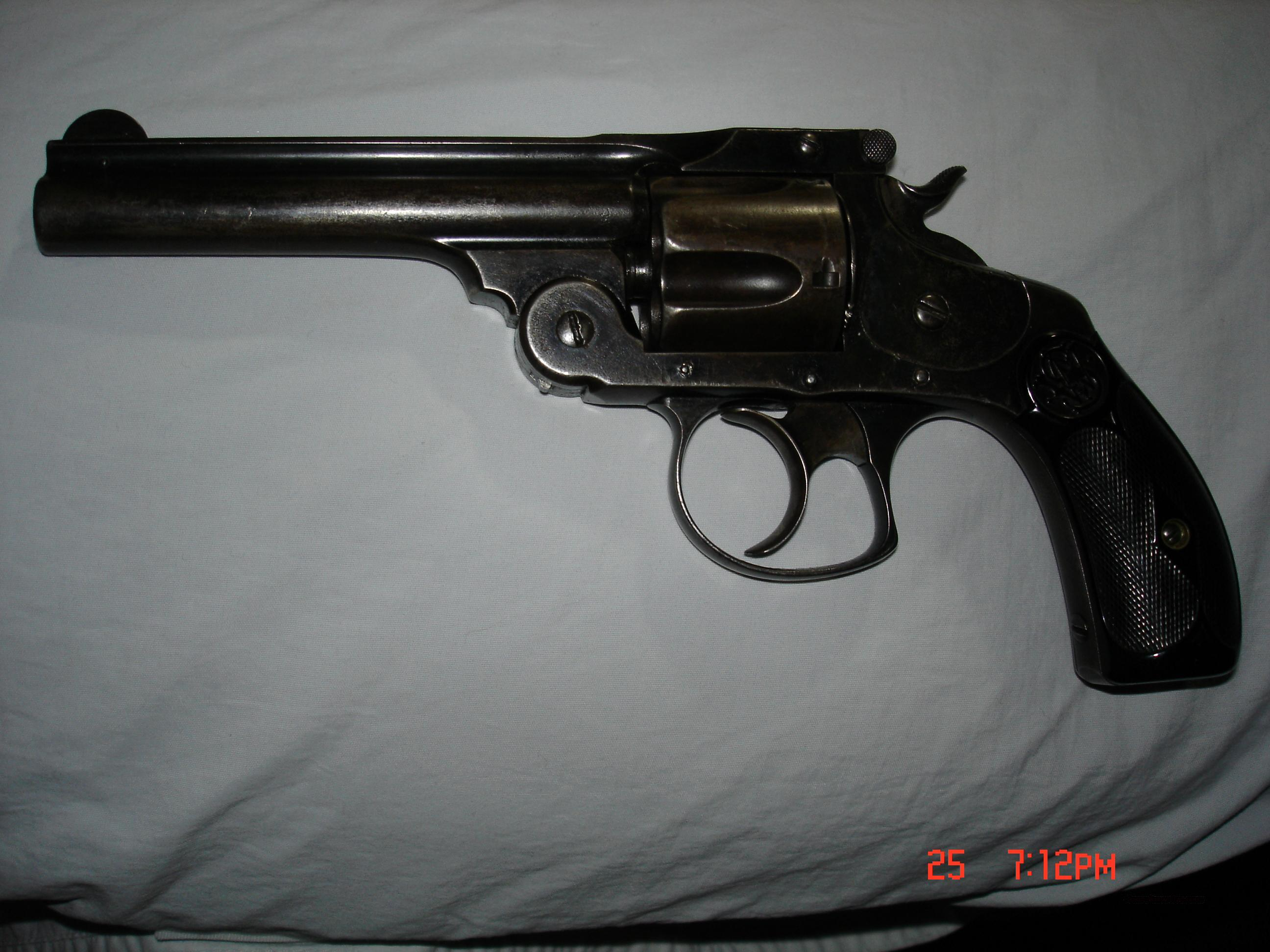Smith & Wesson .38 Third Model Double Action Revolver  Guns > Pistols > Smith & Wesson Revolvers > Pre-1899