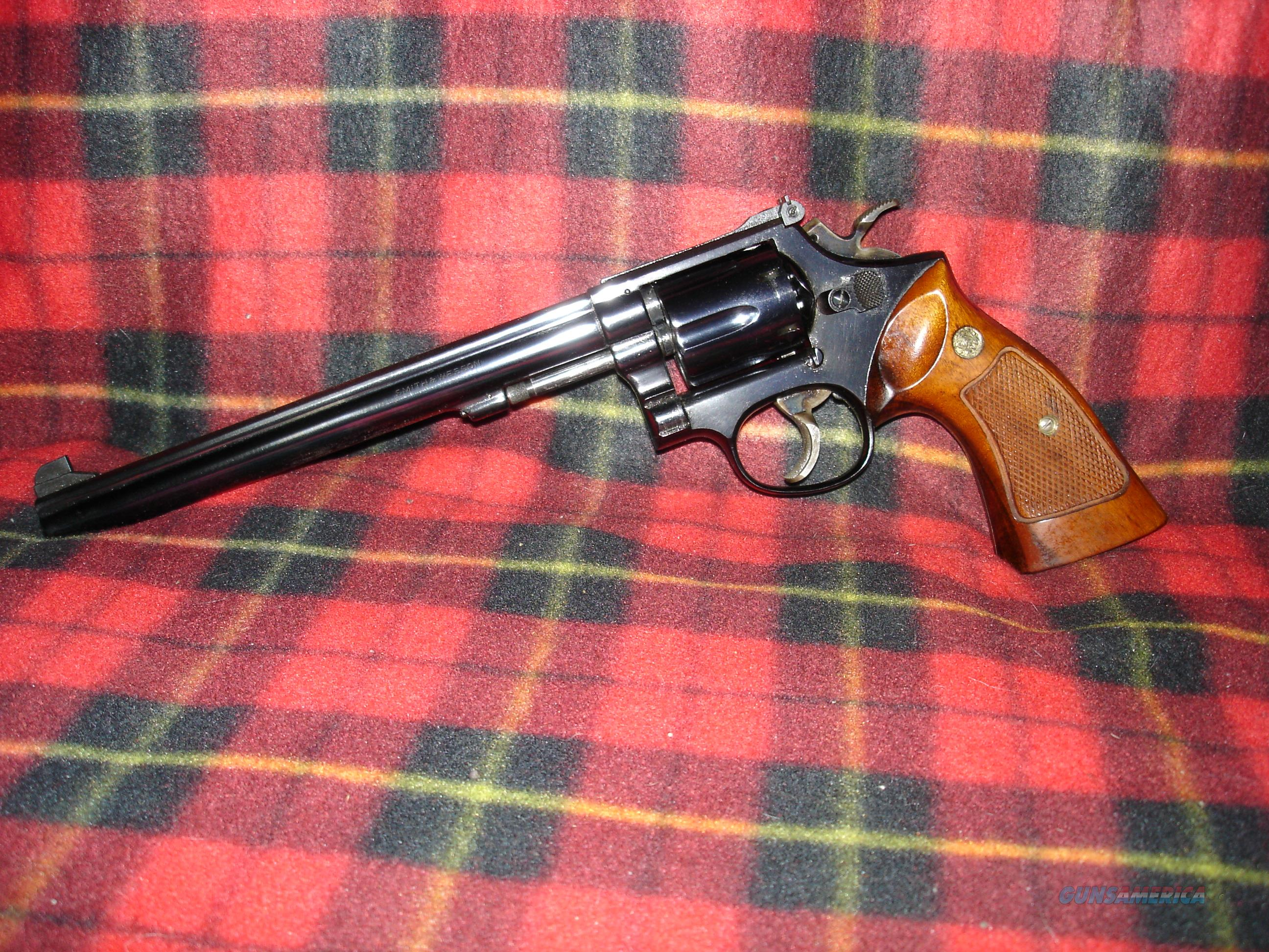 "Smith & Wesson Model Model 14-3 K-38 Masterpiece 8 3/8"" barrel .38 Special revolver -- OLD STOCK/NIB  Guns > Pistols > Smith & Wesson Revolvers > Med. Frame ( K/L )"
