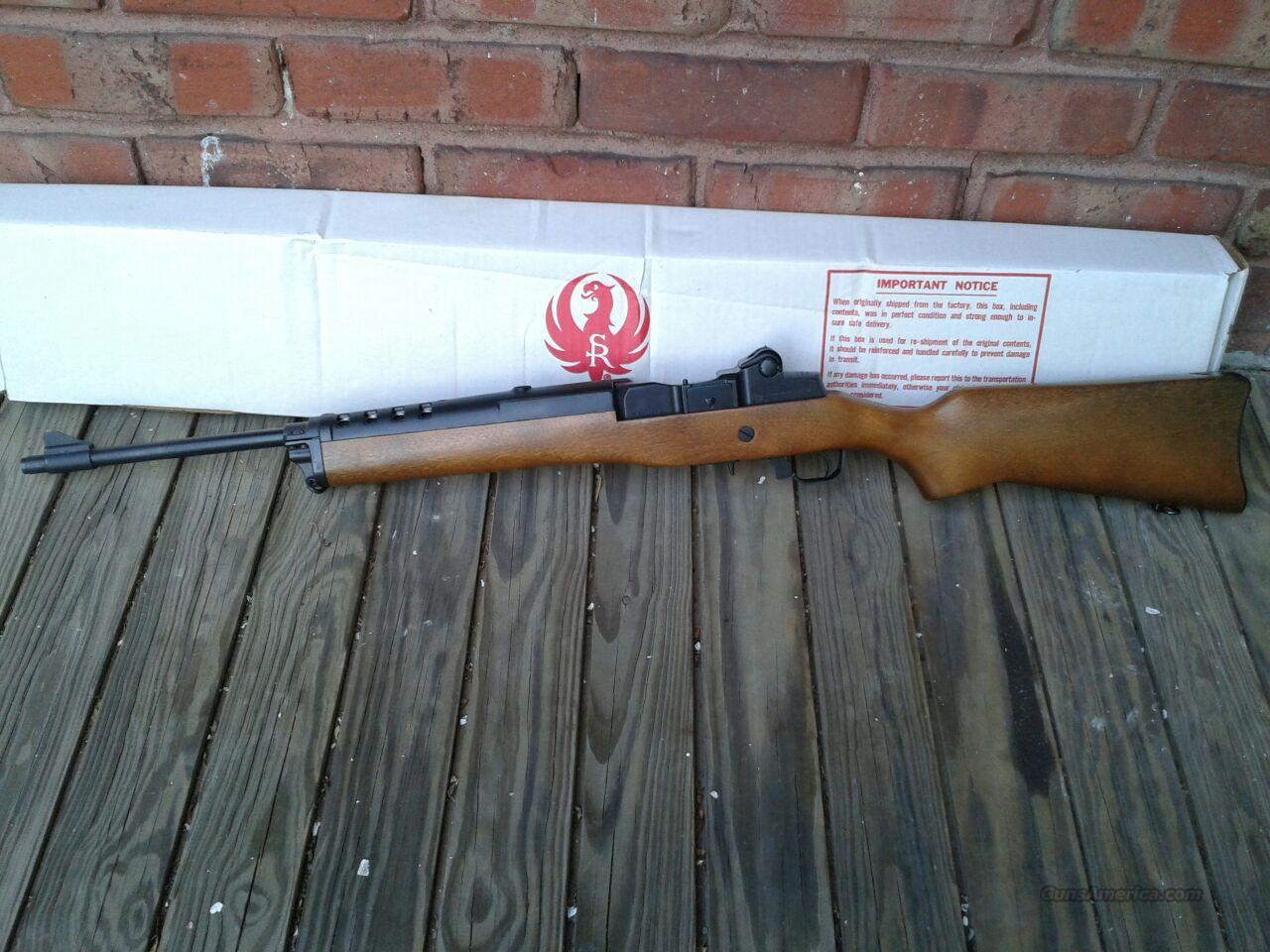 Ruger Mini-14/5 .223/5.56 Earlier Model Ranch Rifle - New - Made in Early- to Mid-1990s  Guns > Rifles > Ruger Rifles > Mini-14 Type