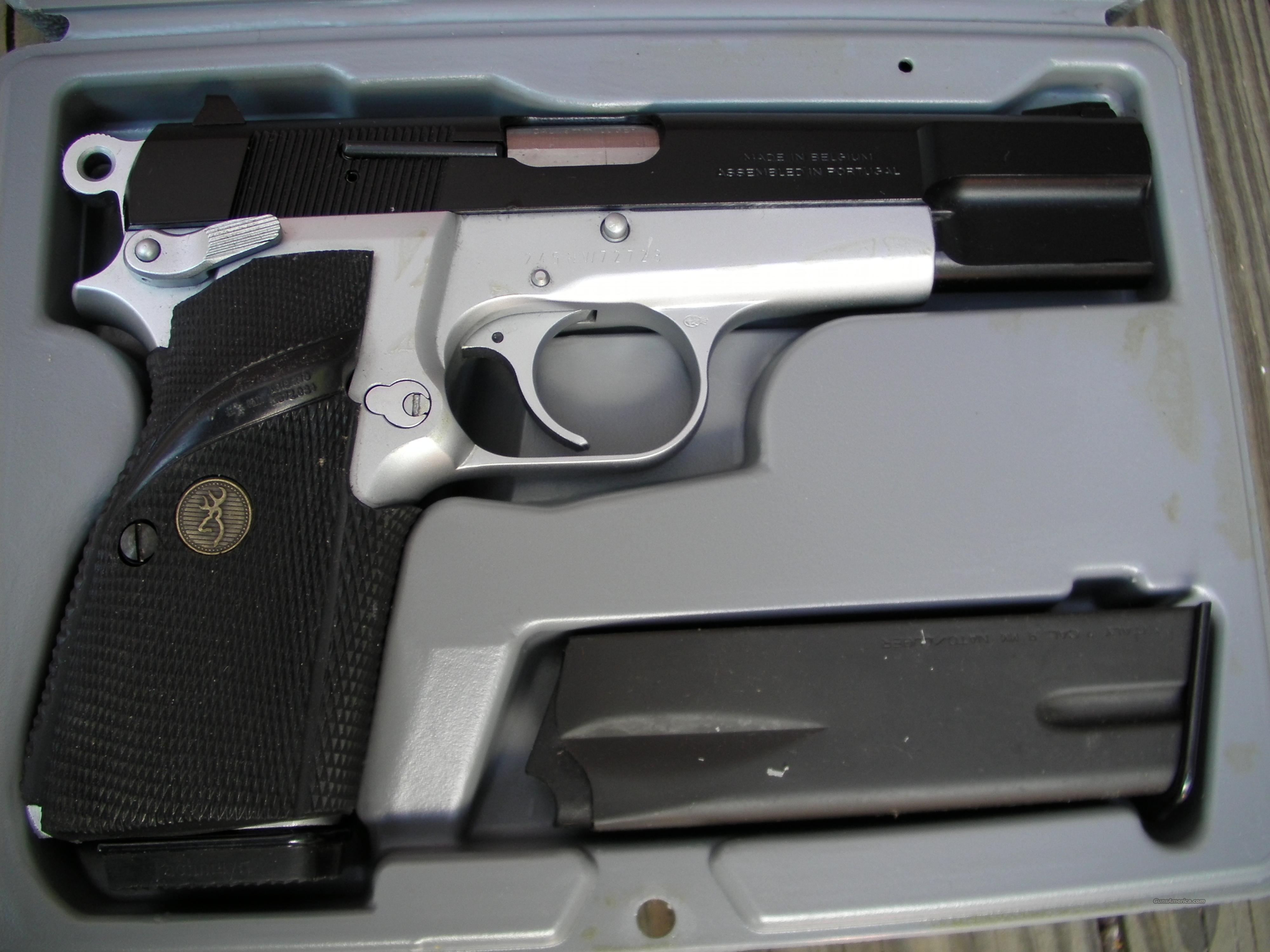 Browning Hi-Power Practical Duo-Tone 9mm  Guns > Pistols > Browning Pistols > Hi Power