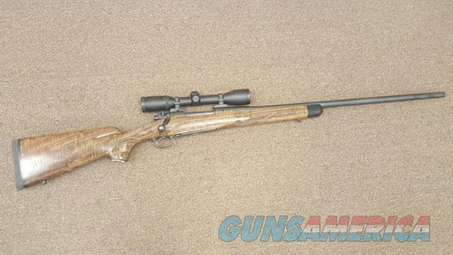 Winchester Model 70 Custom by Lee Kuhns With Zeiss Diavari C 3-9X36 Scope .300 WBY  Guns > Rifles > Winchester Rifles - Modern Bolt/Auto/Single > Model 70 > Pre-64