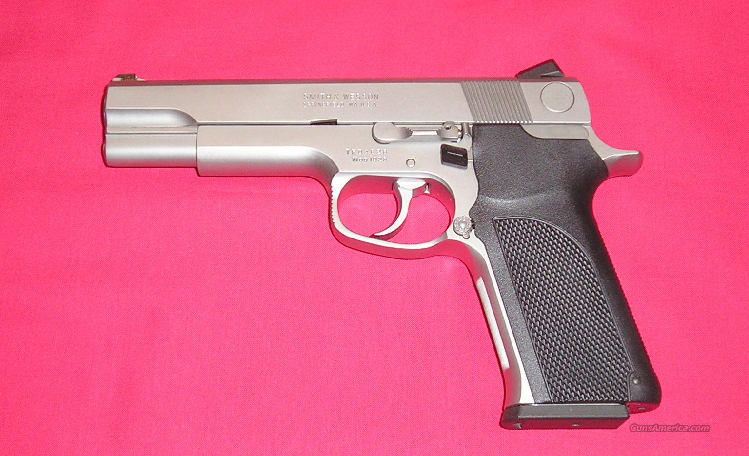 S&W Model 1026 10mm  Guns > Pistols > Smith & Wesson Pistols - Autos > Steel Frame