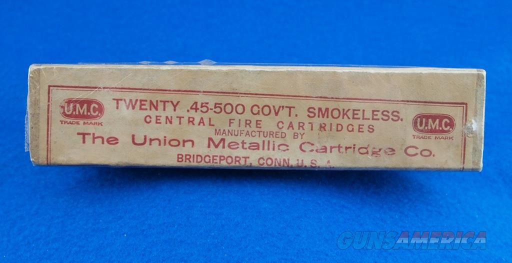 UMC Vintage Ammunition .45-500 Gov't WBox  Non-Guns > Ammunition