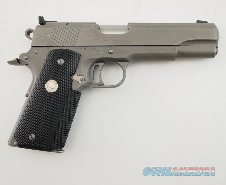 Colt Combat Target 1911 .45 ACP WBox  Guns > Pistols > Colt Automatic Pistols (1911 & Var)