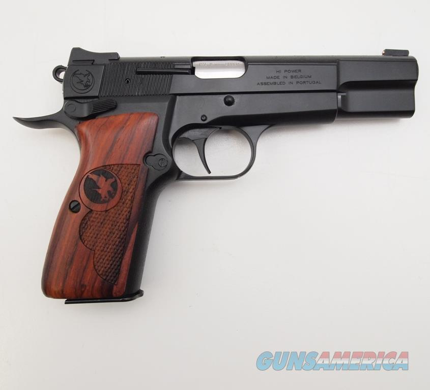 NightHawk Browning HI-POWER 9X19, NIB, Softcase included  Guns > Pistols > Nighthawk Pistols