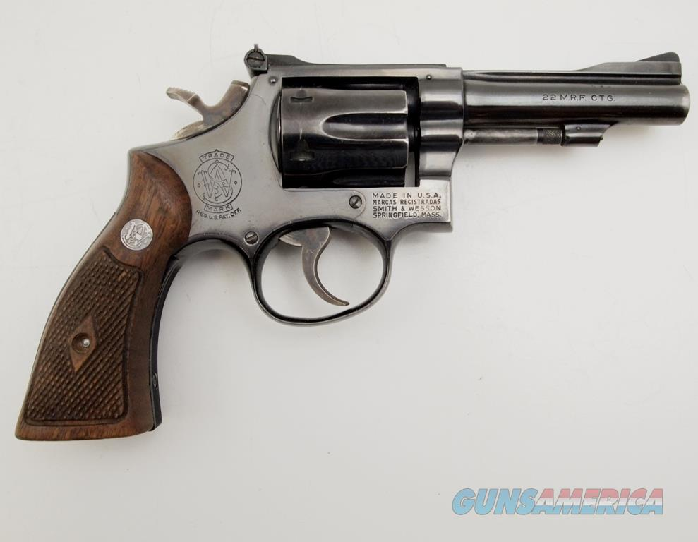 S&W 48 (K-22) Three Screw .22MAG  Guns > Pistols > Smith & Wesson Revolvers > Med. Frame ( K/L )