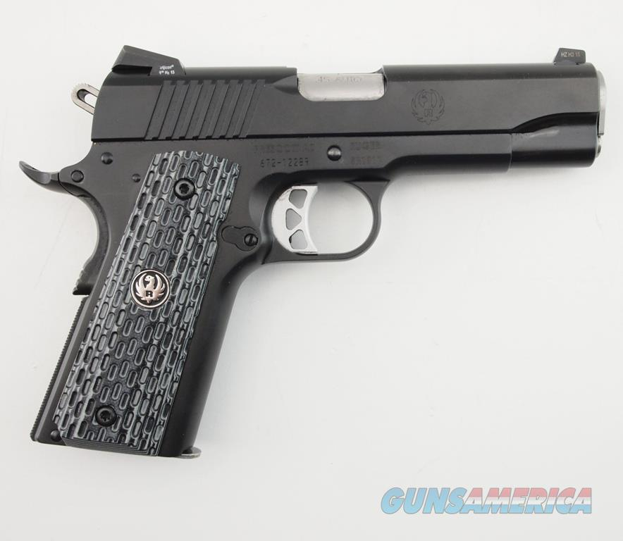 Ruger SR1911 Night Watchman Commander .45 ACP WBox  Guns > Pistols > Ruger Semi-Auto Pistols > 1911