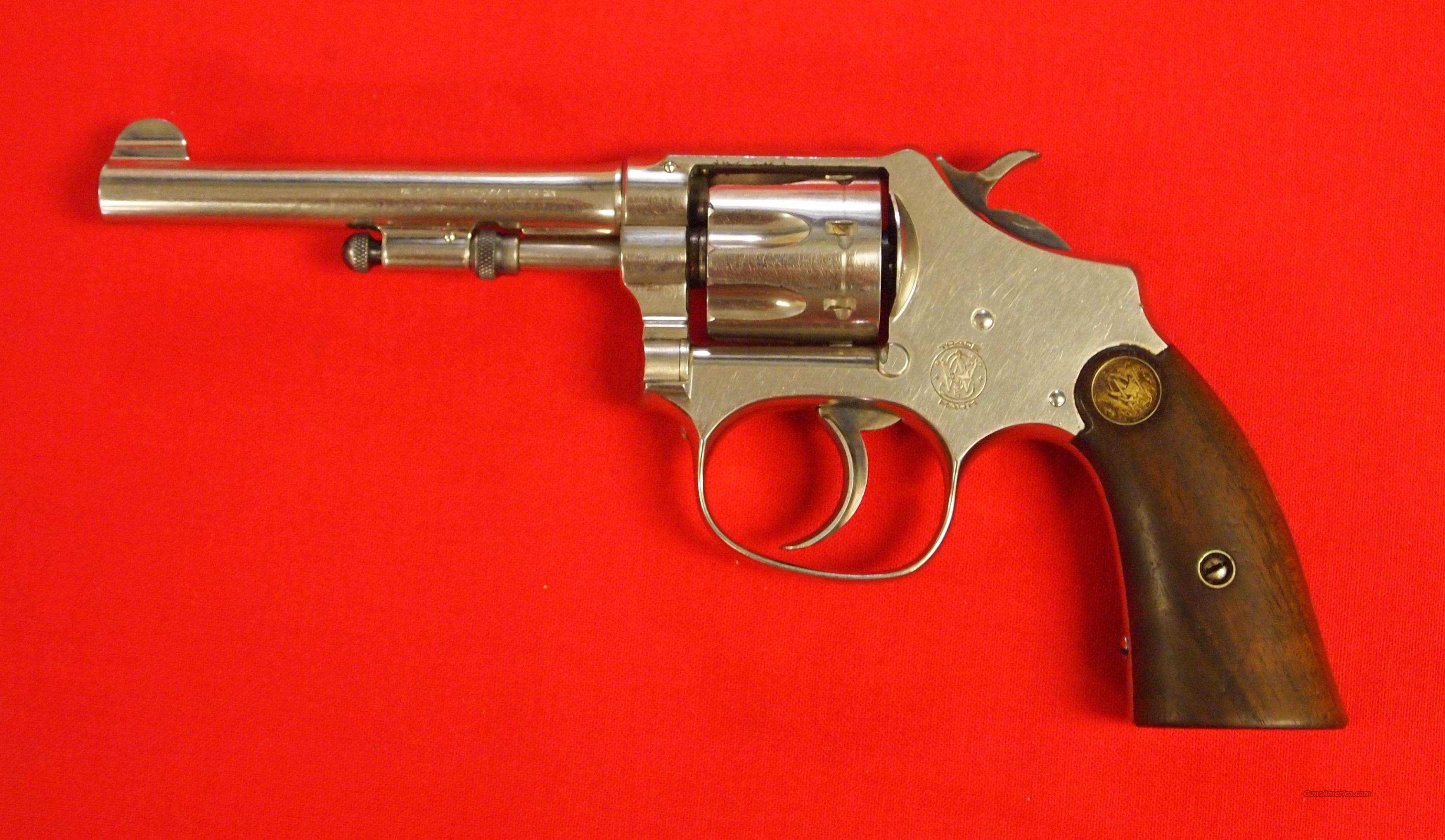 S&W .22 Hand Ejector Lady Smith  Guns > Pistols > Smith & Wesson Revolvers > Pre-1945