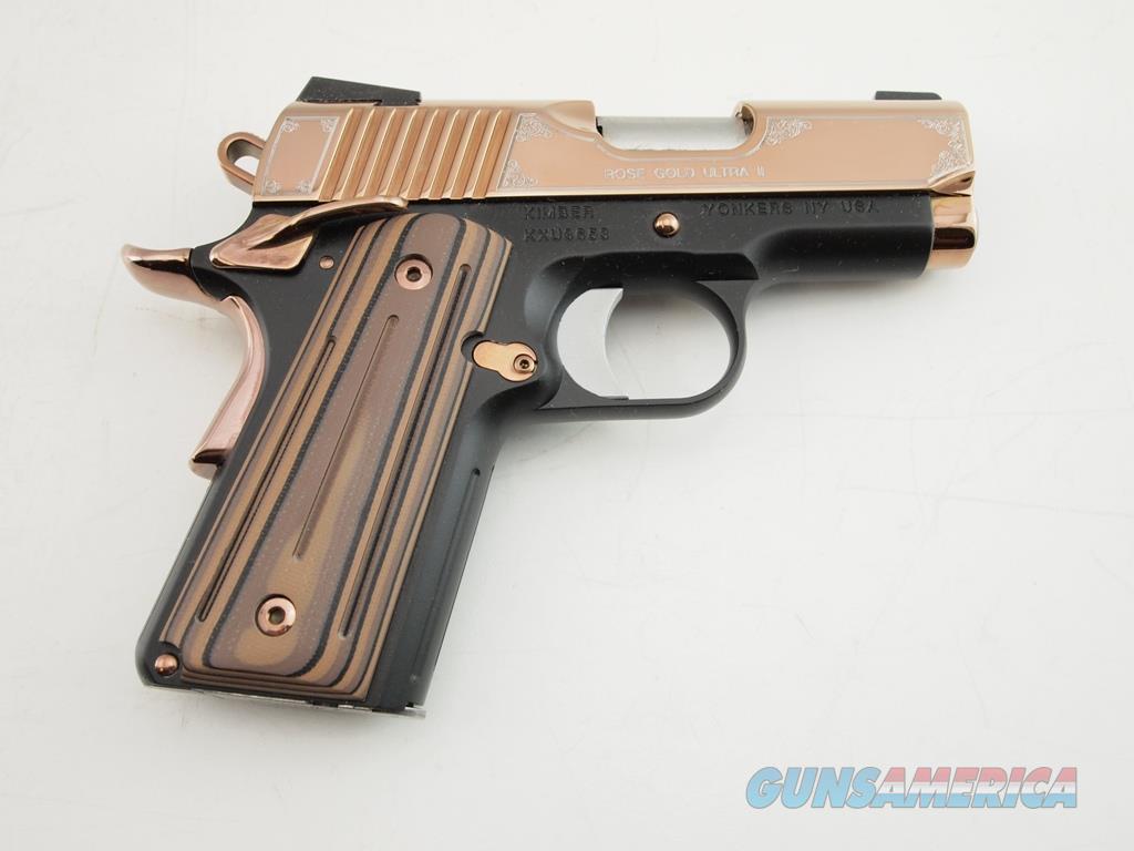 Kimber Rose Gold Ultra II 9MM WBox  Guns > Pistols > Kimber of America Pistols > 1911