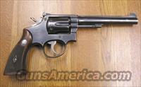 S&W K-22 MASTERPIECE  Guns > Pistols > Smith & Wesson Revolvers > Full Frame Revolver