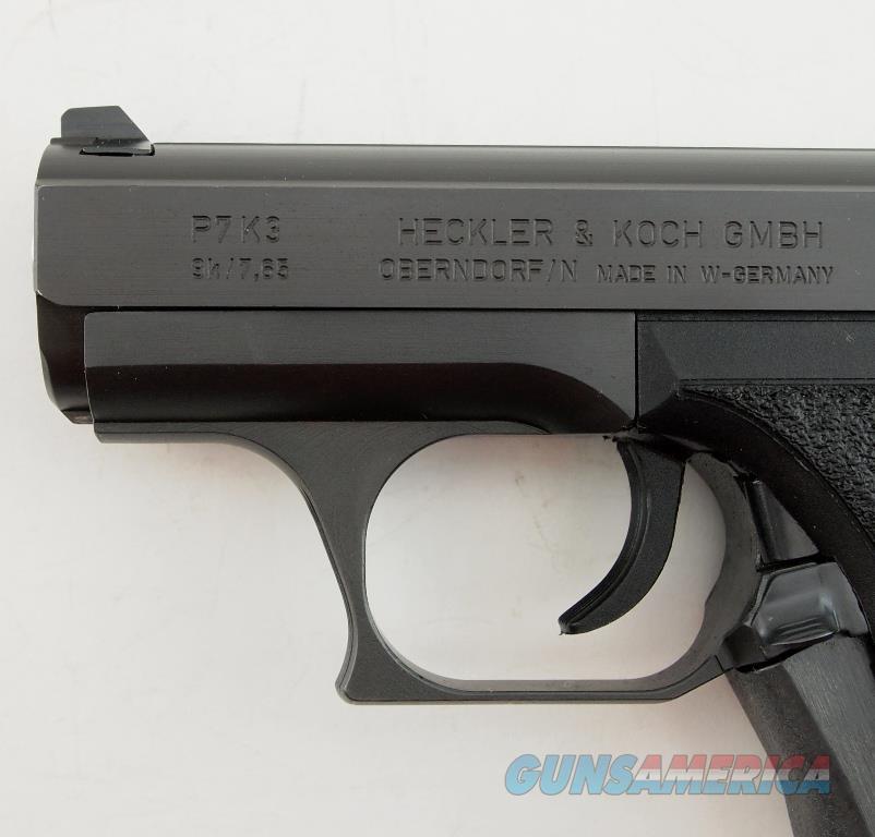 Rare H&K P7-K3 .380 ACP MFG 1988 - 1994 WBox  Guns > Pistols > Heckler & Koch Pistols > SteelFrame