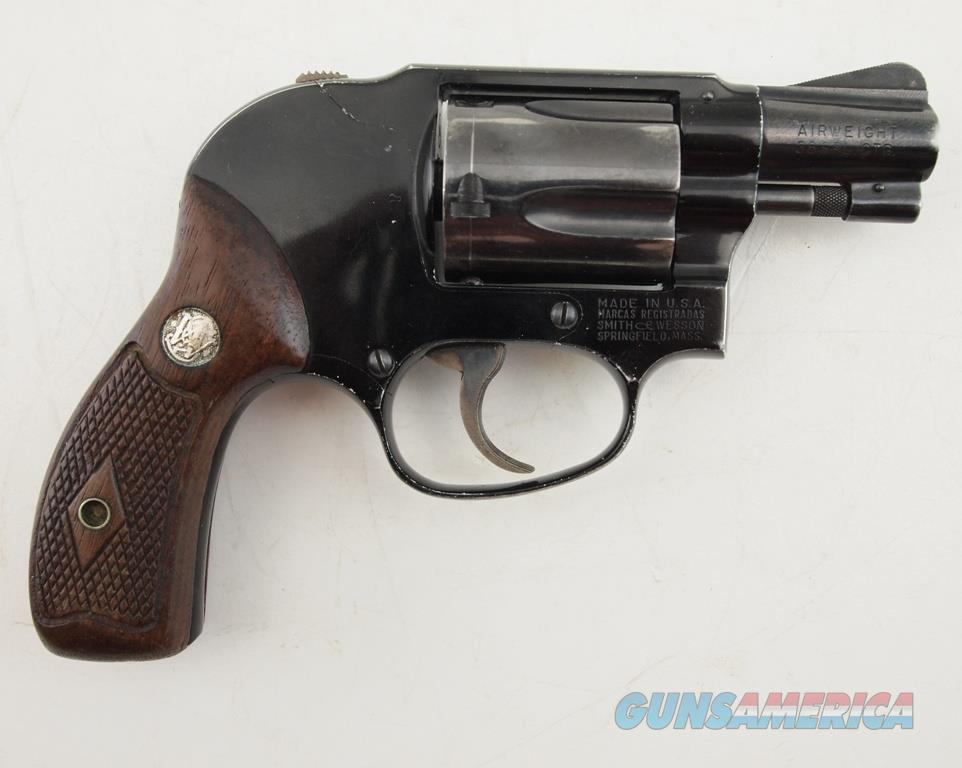 S&W M-38 Airweight .38 SPL  Guns > Pistols > Smith & Wesson Revolvers > Small Frame ( J )