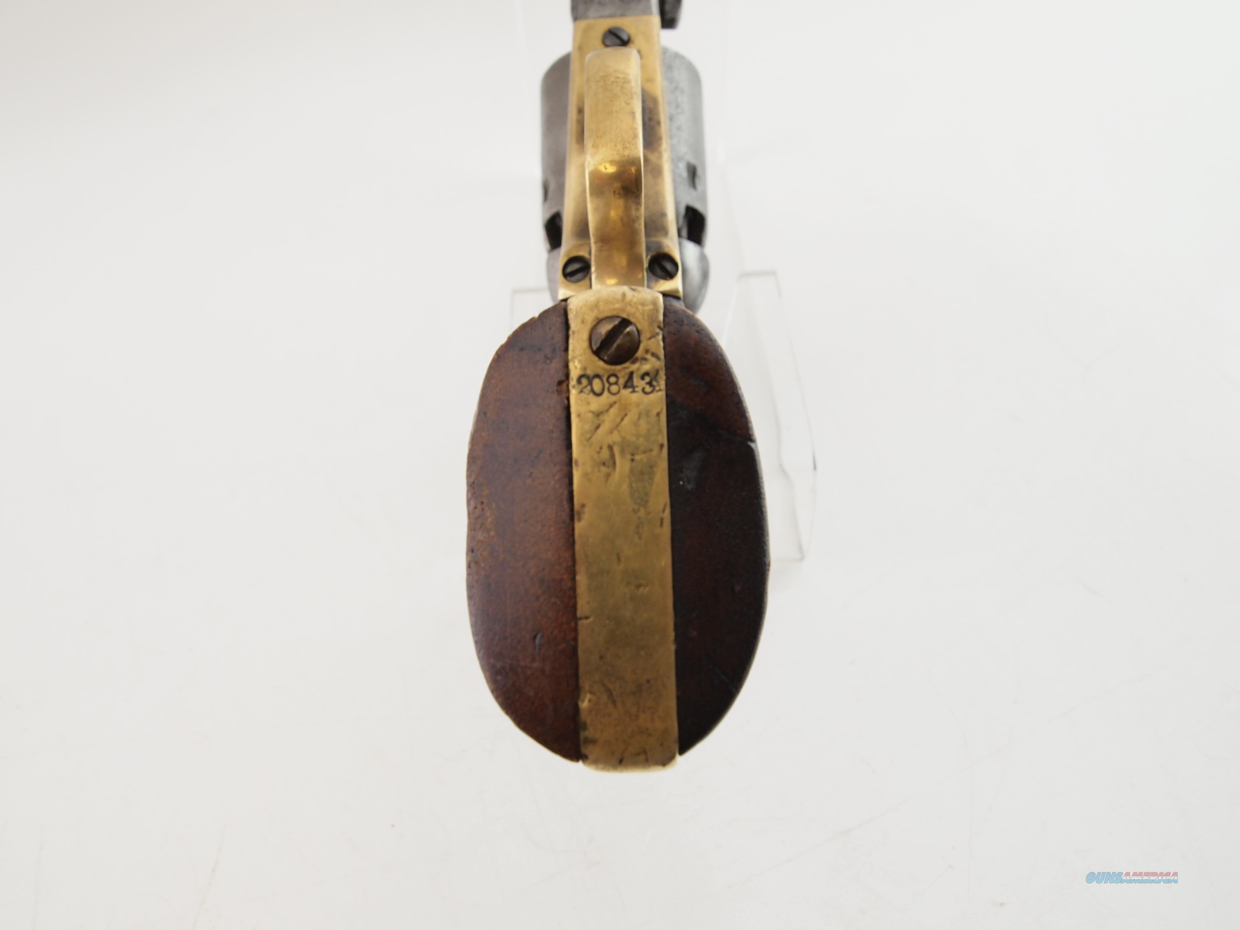 Colt 1851 4th Type MFG 1869 .36 Cal Black Powder Percussion  Guns > Pistols > Colt Percussion Revolver - Pre-1899