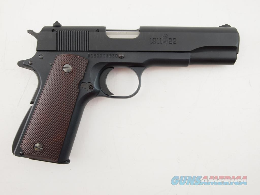 Browning 1911 22 .22LR  Guns > Pistols > Browning Pistols > Other Autos