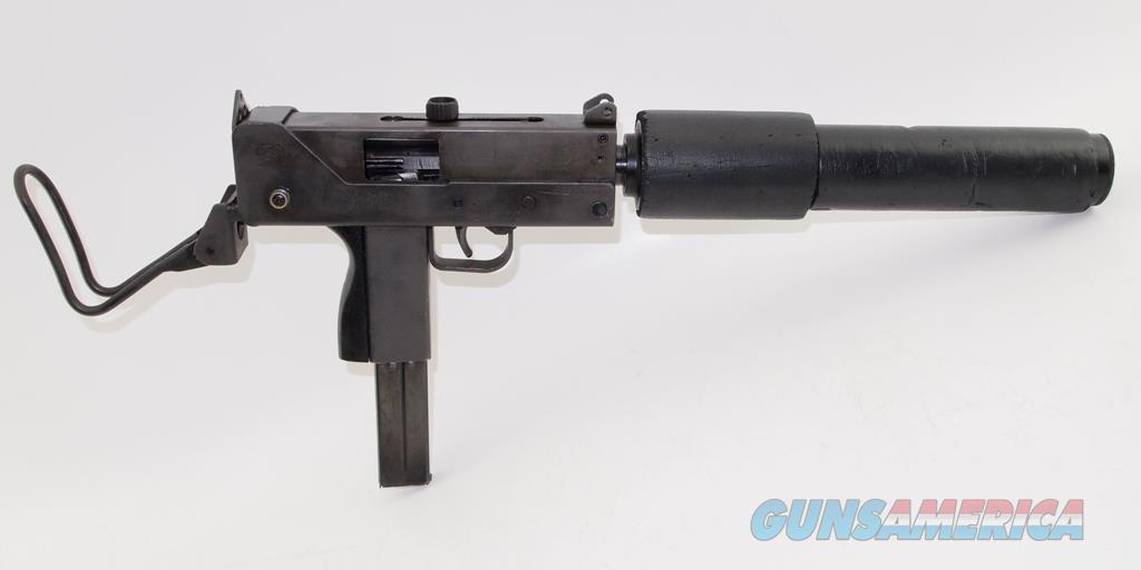 MAC 10 Open Bolt Full Auto With Suppressor NFA Class 3  Guns > Pistols > Class 3 Pistols > Class 3 Subguns