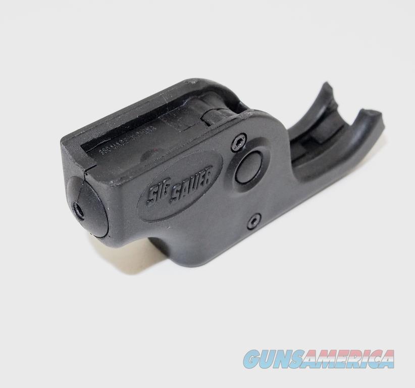 SIG/SAUER P238 Trigger Guard Laser - Red, NIB  Non-Guns > Launchers - Non Lethal