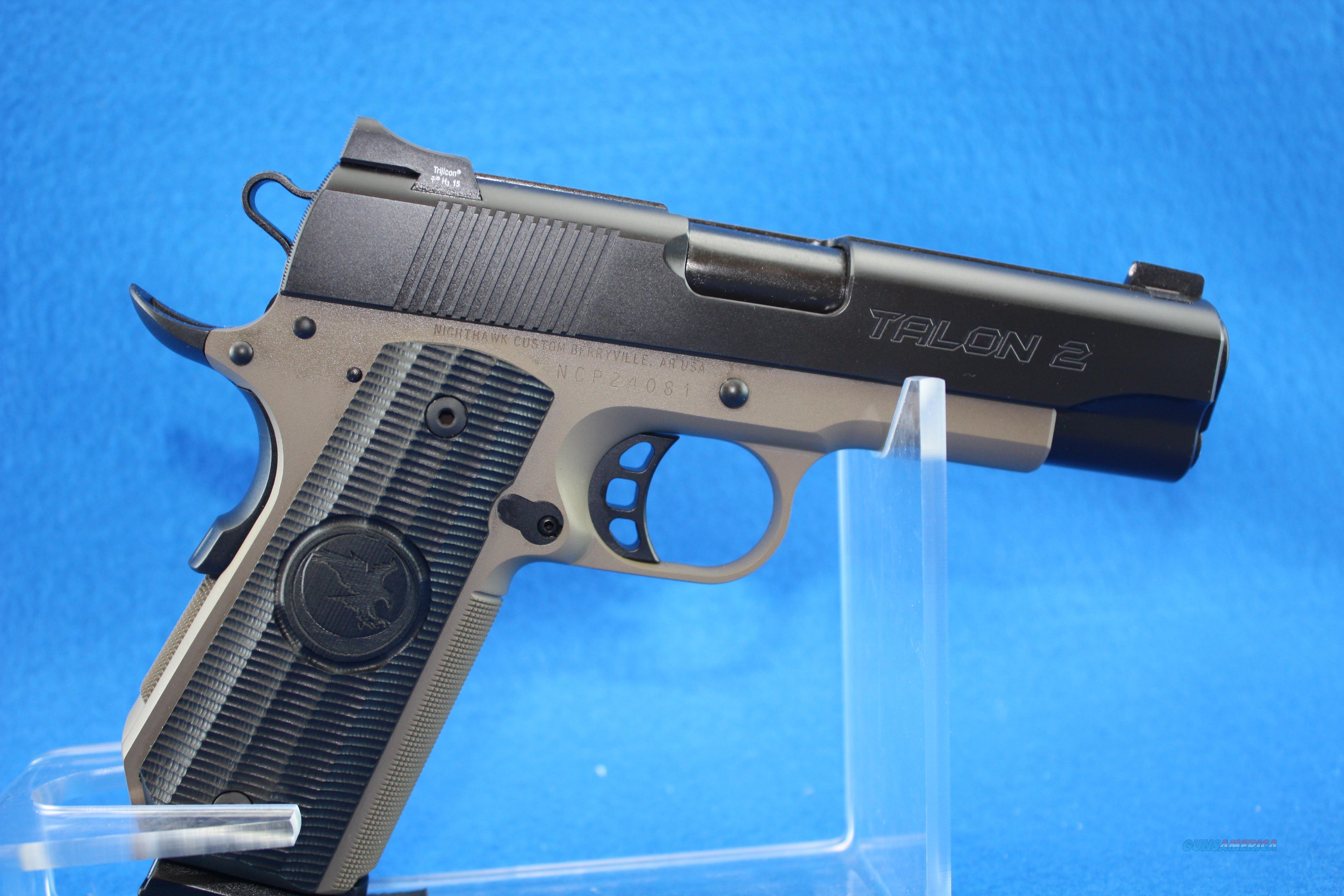 Nighthawk Talon 2 Bobtail .45ACP NIB  Guns > Pistols > Nighthawk Pistols
