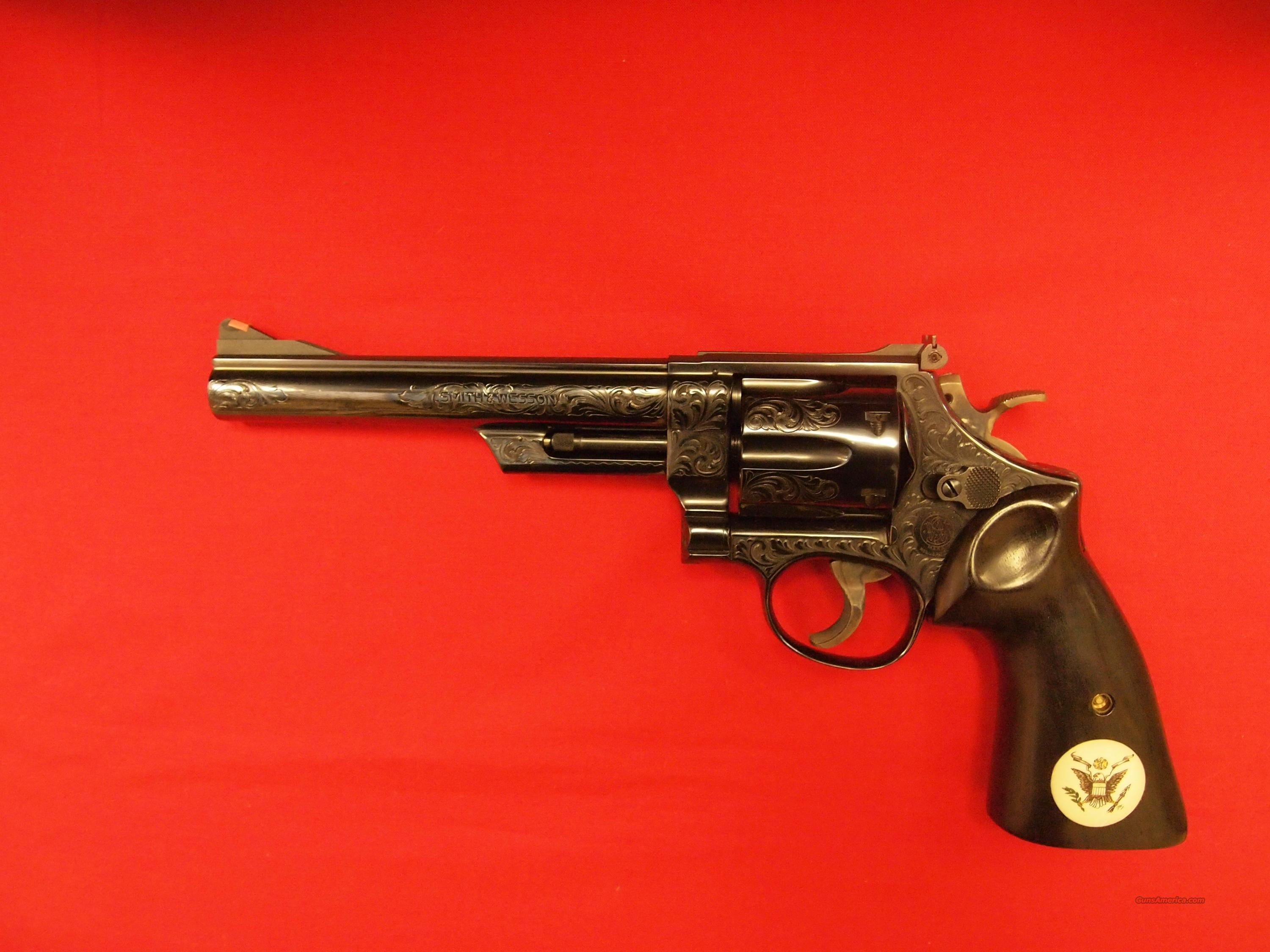 "S&W 29-2 ""B"" Factory Hand Engraving  Guns > Pistols > Smith & Wesson Revolvers > Full Frame Revolver"
