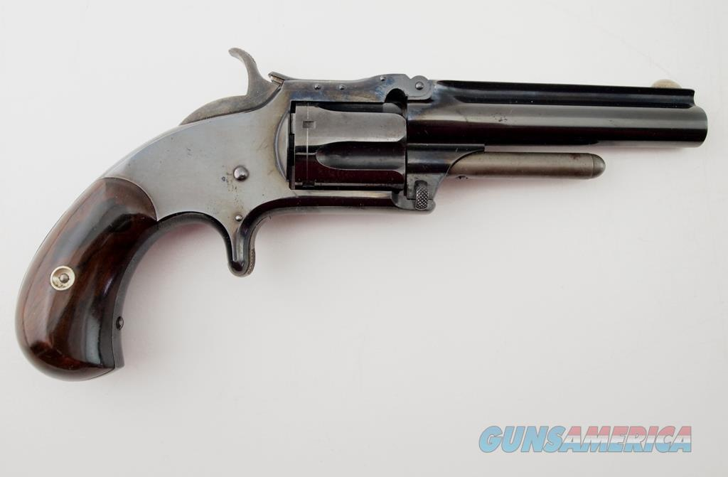 S&W 1 1/2 New Model 2ND Issue MFG 1868 - 1875 .32 Rimfire  Guns > Pistols > Smith & Wesson Revolvers > Pre-1899