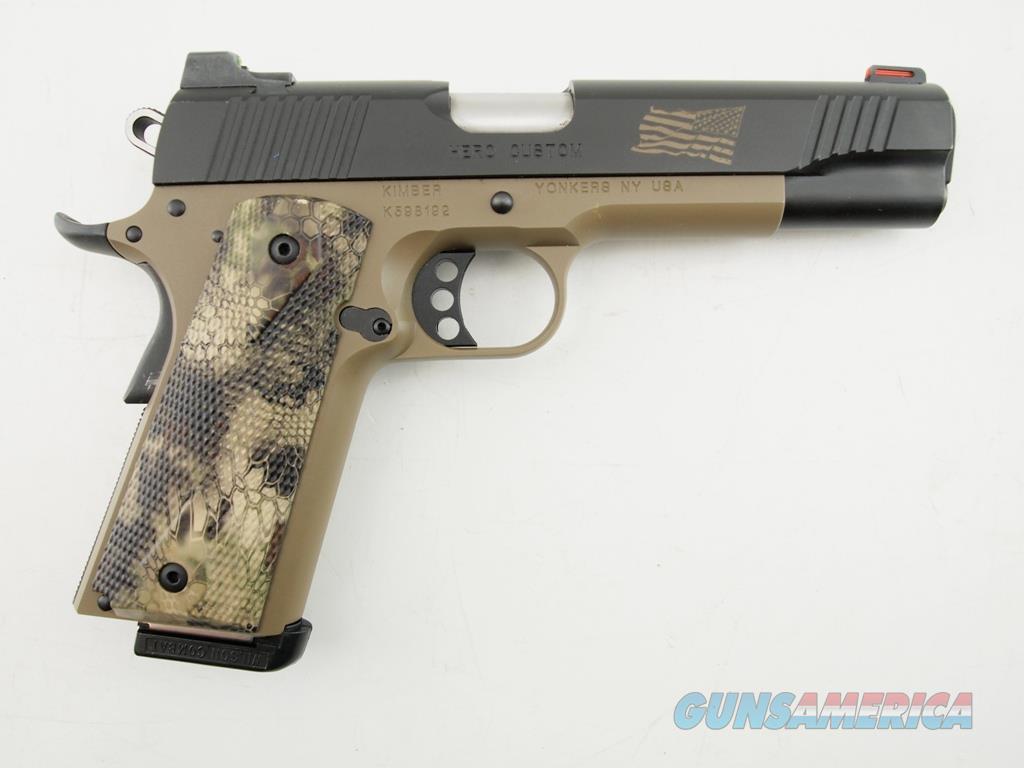 Kimber Hero Custom 1911 .45 ACP WBox  Guns > Pistols > Kimber of America Pistols > 1911