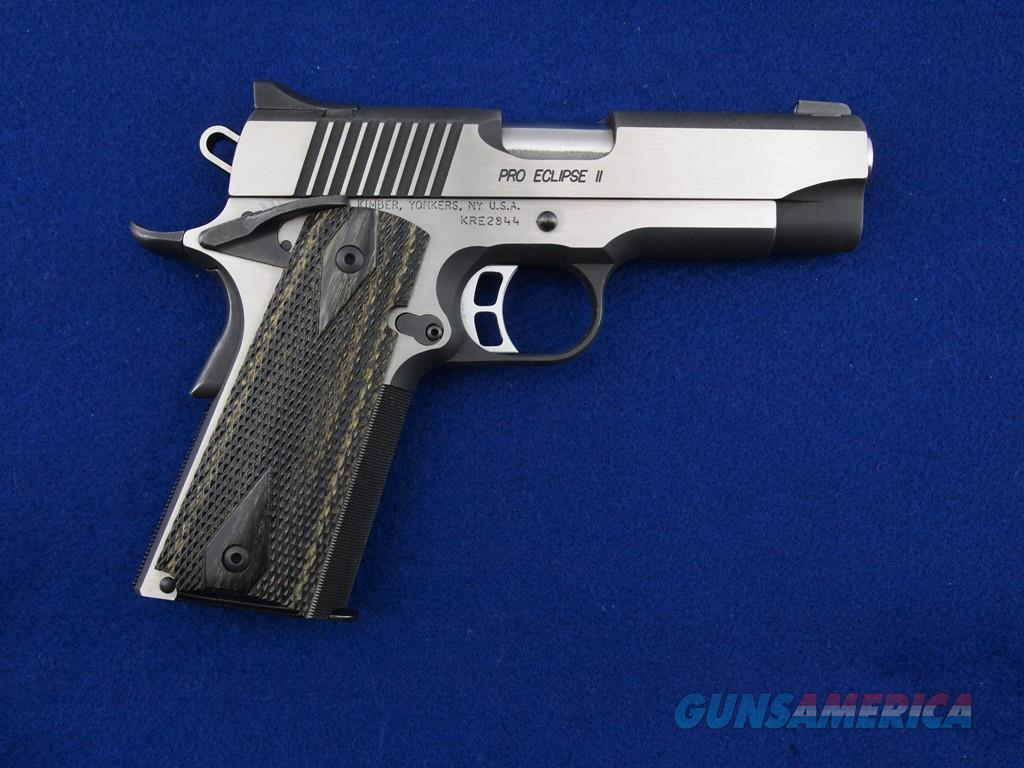 Kimber Pro Eclipse II .45 ACP WBox  Guns > Pistols > Kimber of America Pistols > 1911