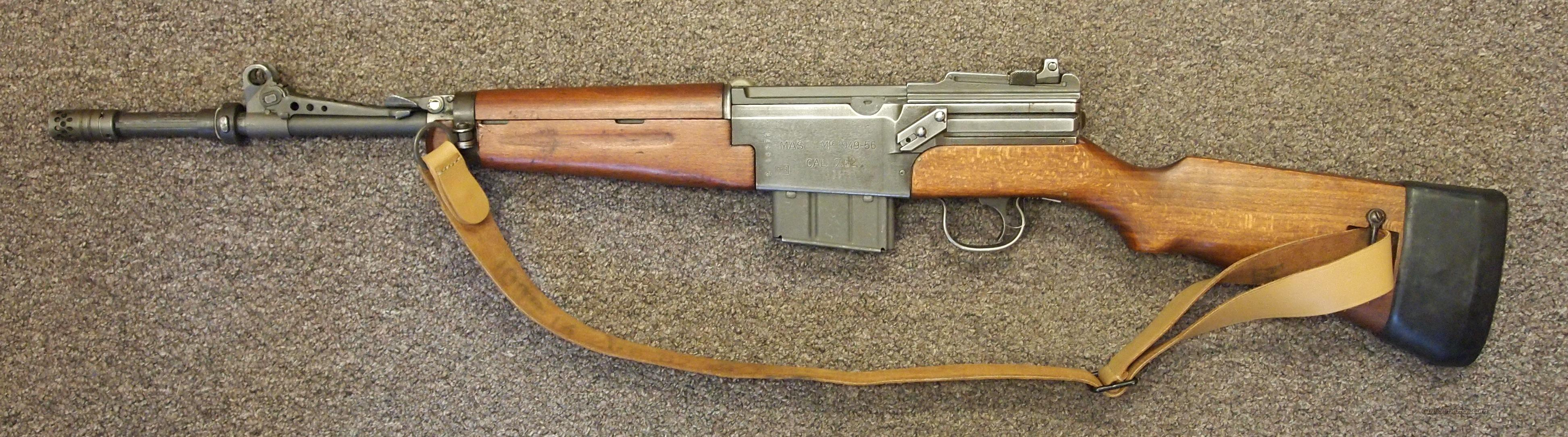 French MAS (1949-56) .308  Guns > Rifles > Military Misc. Rifles Non-US > FrenchMAS